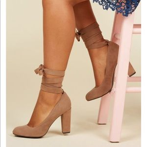 ModCloth Charismatic Candidate lace up heel
